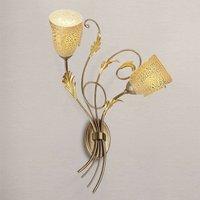 Attractive wall light Ilaria   2 bulb