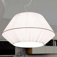 Hanging light Sheraton with an organza silk shade