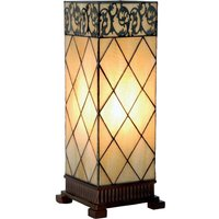 Table lamp Diamond  Tiffany style 45 cm