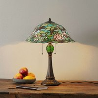 Enchanting table lamp Waterlily  Tiffany style