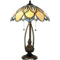 Extraordinary table lamp Poseidon  Tiffany style