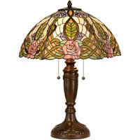 Heavenly table lamp Eden  Tiffany style