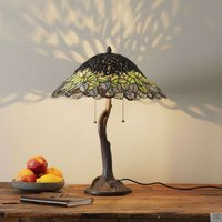 Extraordinary table lamp Jamaica  Tiffany style