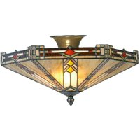 Contemporary ceiling lamp Madison  Tiffany style