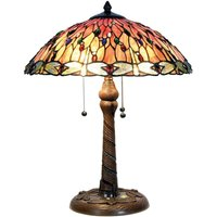 Enchanting table lamp Bella  Tiffany style