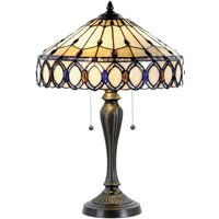 Attractive table lamp Fiera  Tiffany style