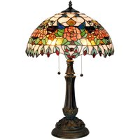 Colourful table lamp Maja  Tiffany design
