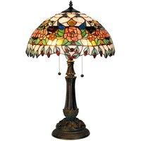 Colourful table lamp Maja  Tiffany design