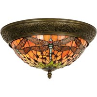 Gorgeous ceiling lamp Bella  Tiffany style 38 cm