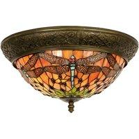 Gorgeous ceiling lamp Bella  Tiffany style 38 cm