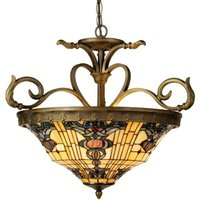 Tiffany style hanging lamp Anthia 2