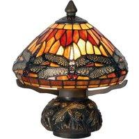 Pretty table lamp Libella in the Tiffany style