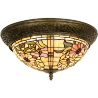 Ceiling light Mira in the Tiffany style