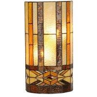 Wall lamp Miwa in the Tiffany style