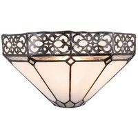 Wall lamp 5212 in the Tiffany style  black white