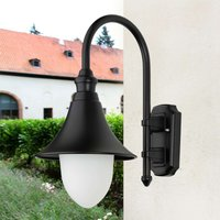 Stylish outdoor wall light Miranda  black