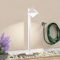 Seawater resistant path lamp Liara  white