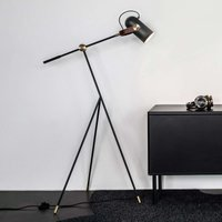 LE KLINT Carronade low   floor lamp  black