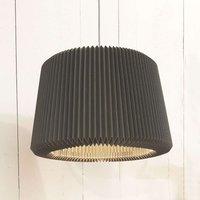 LE KLINT Snowdrop M   paper hanging lamp  black
