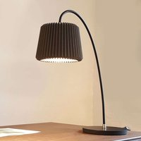 LE KLINT Snowdrop   paper table lamp  black