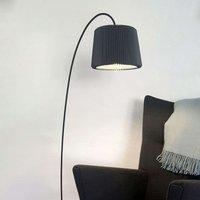 LE KLINT Snowdrop   floor lamp  black lampshade