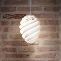 LE KLINT Swirl 2 small  hanging light  white