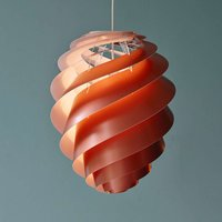 LE KLINT Swirl 2 medium   pendant light  copper