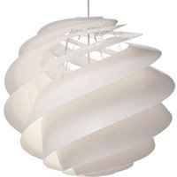 LE KLINT Swirl 3 large   hanging light  white