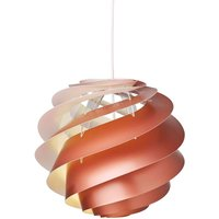 LE KLINT Swirl 3 small   hanging light  copper
