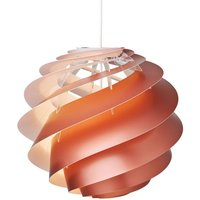 LE KLINT Swirl 3 medium   hanging lamp  copper
