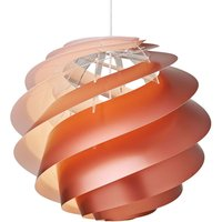 LE KLINT Swirl 3 large   hanging lamp  copper