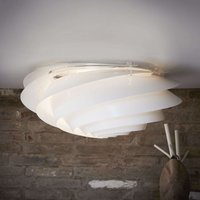 LE KLINT Swirl large   wall light  white  dimmable