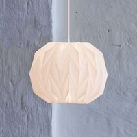 LE KLINT 157 small   hand pleated hanging light
