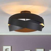 Black Tornado ceiling light