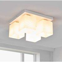 White Vega ceiling lamp  4 bulb