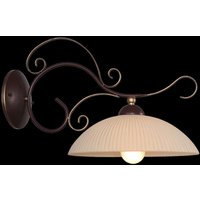 Idella wall light with a decorative wall mount