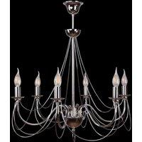 Retro chandelier  silver  6 bulb 75 cm suspension