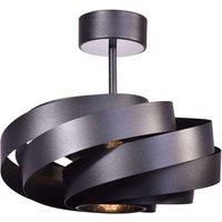 Vento ceiling light black   40 cm