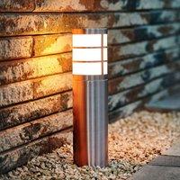 Stainless steel pillar light Calgary IP44