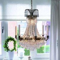 Magnificent candle chandelier Lacko 54 cm