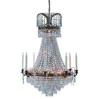 Magnificent candle chandelier Lacko 66 cm