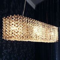 Glittering energy saving hanging light TROLLEN S
