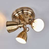 Ceiling light FJ LLBACKA with antique effect