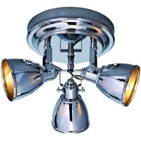 FJ LLBACKA   attractive ceiling light in chrome