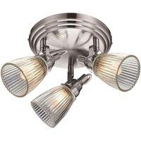 Rustic bathroom ceiling lamp Lada IP44