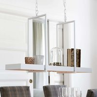 LED hanging light Tray in white