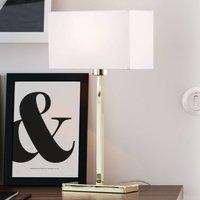 Linear table lamp Savoy USB