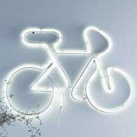 LED decorative light New York with bicycle design