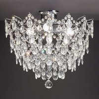 Rosendal ceiling light diameter 48 cm chrome
