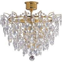 Rosendal ceiling light diameter 48 cm gold